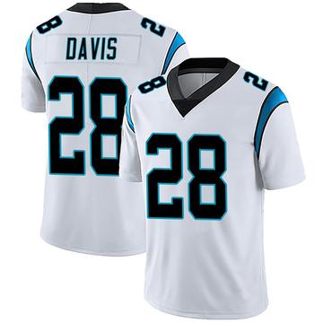 Youth Nike Carolina Panthers Mike Davis White Vapor Untouchable Jersey - Limited