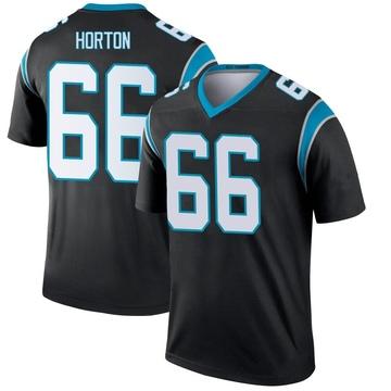Youth Nike Carolina Panthers Mike Horton Black Jersey - Legend