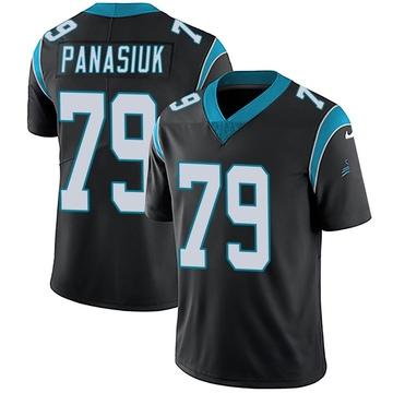 Youth Nike Carolina Panthers Mike Panasiuk Black Team Color Vapor Untouchable Jersey - Limited
