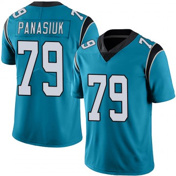 Youth Nike Carolina Panthers Mike Panasiuk Blue Alternate Vapor Untouchable Jersey - Limited