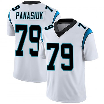 Youth Nike Carolina Panthers Mike Panasiuk White Vapor Untouchable Jersey - Limited