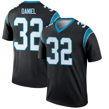 Youth Nike Carolina Panthers Mikey Daniel Black Jersey - Legend