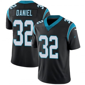 Youth Nike Carolina Panthers Mikey Daniel Black Team Color Vapor Untouchable Jersey - Limited