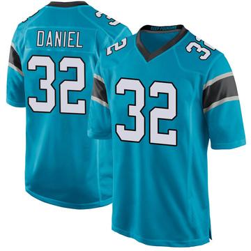 Youth Nike Carolina Panthers Mikey Daniel Blue Alternate Jersey - Game