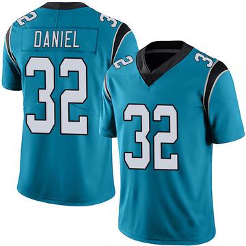 Youth Nike Carolina Panthers Mikey Daniel Blue Alternate Vapor Untouchable Jersey - Limited