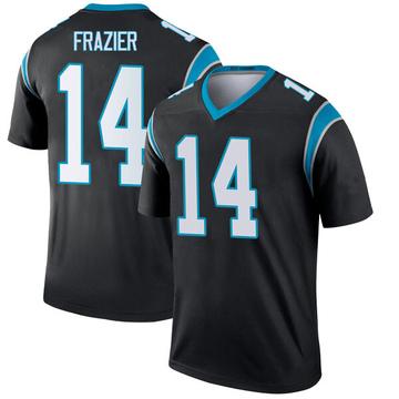 Youth Nike Carolina Panthers Mose Frazier Black Jersey - Legend