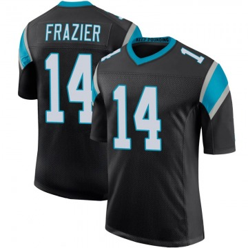 Youth Nike Carolina Panthers Mose Frazier Black Team Color 100th Vapor Untouchable Jersey - Limited