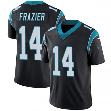 Youth Nike Carolina Panthers Mose Frazier Black Team Color Vapor Untouchable Jersey - Limited