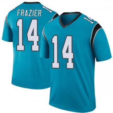 Youth Nike Carolina Panthers Mose Frazier Blue Color Rush Jersey - Legend
