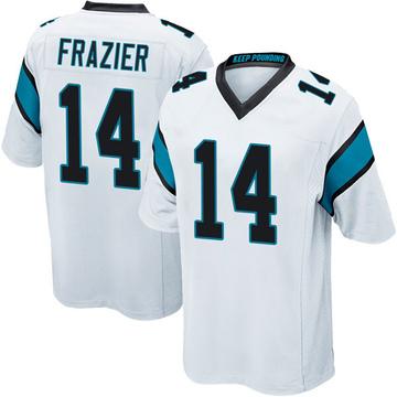 Youth Nike Carolina Panthers Mose Frazier White Jersey - Game