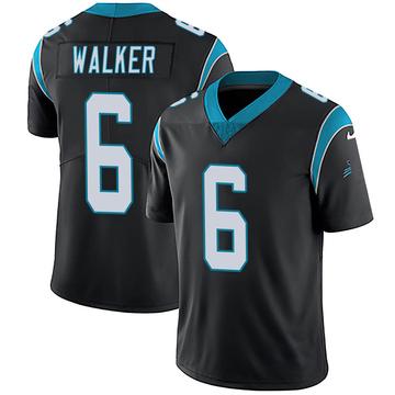 Youth Nike Carolina Panthers P.J. Walker Black Team Color Vapor Untouchable Jersey - Limited