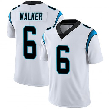 Youth Nike Carolina Panthers P.J. Walker White Vapor Untouchable Jersey - Limited