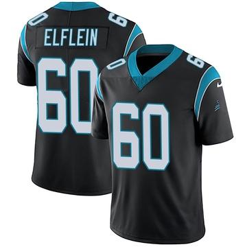Youth Nike Carolina Panthers Pat Elflein Black Team Color Vapor Untouchable Jersey - Limited