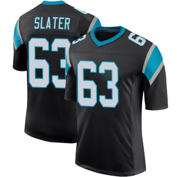 Youth Nike Carolina Panthers Pearce Slater Black Team Color 100th Vapor Untouchable Jersey - Limited