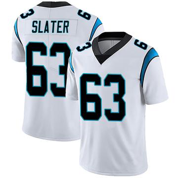 Youth Nike Carolina Panthers Pearce Slater White Vapor Untouchable Jersey - Limited
