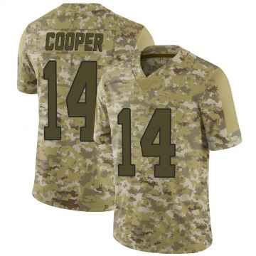 Youth Nike Carolina Panthers Pharoh Cooper Camo 2018 Salute to Service Jersey - Limited