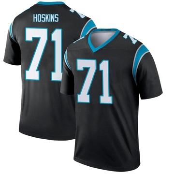 Youth Nike Carolina Panthers Phil Hoskins Black Jersey - Legend