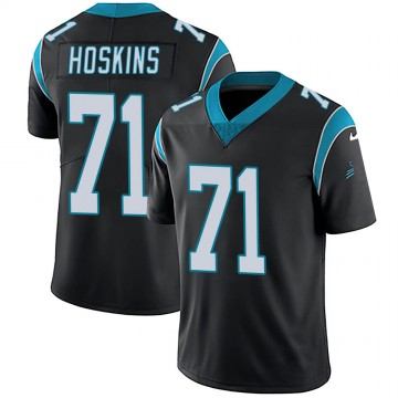 Youth Nike Carolina Panthers Phil Hoskins Black Team Color Vapor Untouchable Jersey - Limited