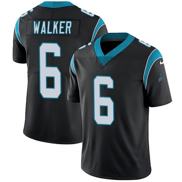 Youth Nike Carolina Panthers Phillip Walker Black Team Color Vapor Untouchable Jersey - Limited
