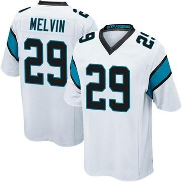 Youth Nike Carolina Panthers Rashaan Melvin White Jersey - Game