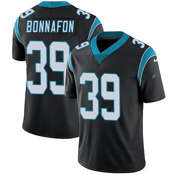 Youth Nike Carolina Panthers Reggie Bonnafon Black Team Color Vapor Untouchable Jersey - Limited