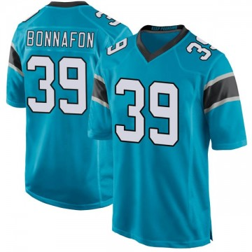 Youth Nike Carolina Panthers Reggie Bonnafon Blue Alternate Jersey - Game