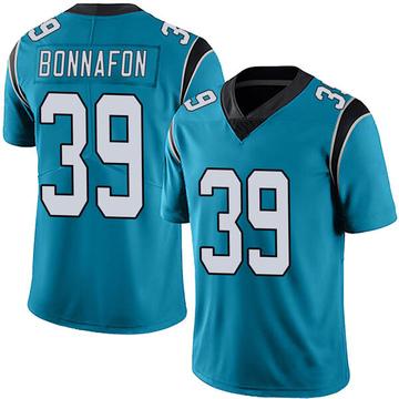 Youth Nike Carolina Panthers Reggie Bonnafon Blue Alternate Vapor Untouchable Jersey - Limited