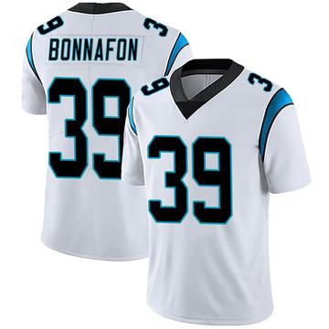 Youth Nike Carolina Panthers Reggie Bonnafon White Vapor Untouchable Jersey - Limited