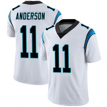 Youth Nike Carolina Panthers Robby Anderson White Vapor Untouchable Jersey - Limited