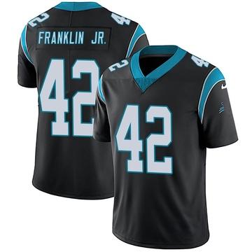 Youth Nike Carolina Panthers Sam Franklin Black Team Color Vapor Untouchable Jersey - Limited