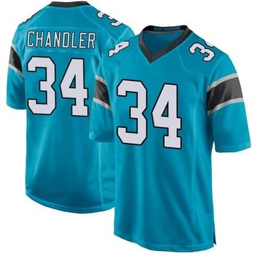Youth Nike Carolina Panthers Sean Chandler Blue Alternate Jersey - Game
