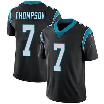Youth Nike Carolina Panthers Shaq Thompson Black Team Color Vapor Untouchable Jersey - Limited