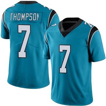 Youth Nike Carolina Panthers Shaq Thompson Blue Alternate Vapor Untouchable Jersey - Limited