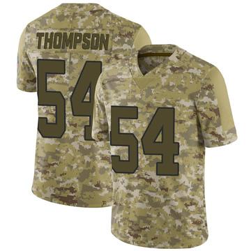 Youth Nike Carolina Panthers Shaq Thompson Camo 2018 Salute to Service Jersey - Limited