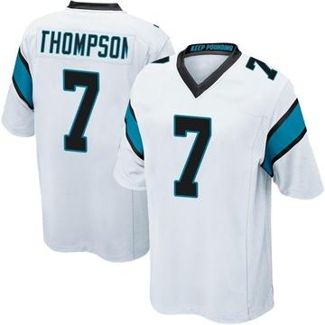 Youth Nike Carolina Panthers Shaq Thompson White Jersey - Game
