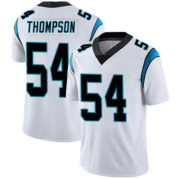 Youth Nike Carolina Panthers Shaq Thompson White Vapor Untouchable Jersey - Limited