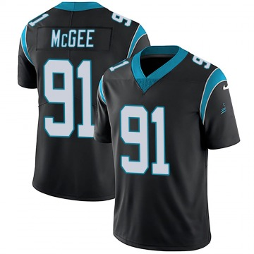 Youth Nike Carolina Panthers Stacy McGee Black Team Color Vapor Untouchable Jersey - Limited