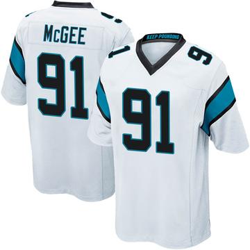 Youth Nike Carolina Panthers Stacy McGee White Jersey - Game