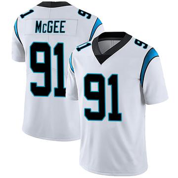 Youth Nike Carolina Panthers Stacy McGee White Vapor Untouchable Jersey - Limited