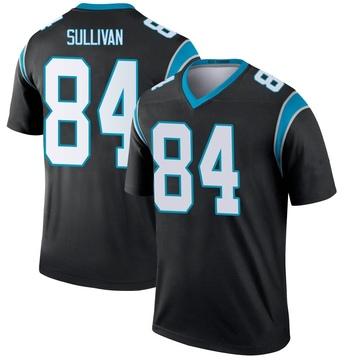 Youth Nike Carolina Panthers Stephen Sullivan Black Jersey - Legend