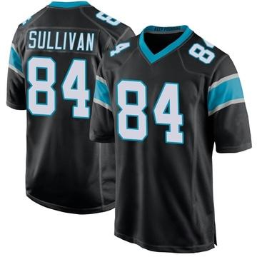 Youth Nike Carolina Panthers Stephen Sullivan Black Team Color Jersey - Game