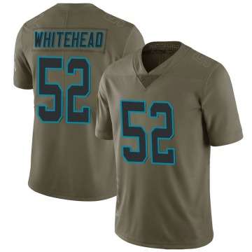 Youth Nike Carolina Panthers Tahir Whitehead Green 2017 Salute to Service Jersey - Limited