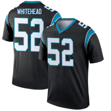 Youth Nike Carolina Panthers Tahir Whitehead White Black Jersey - Legend