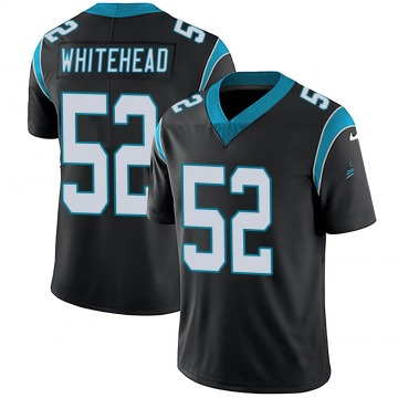 Youth Nike Carolina Panthers Tahir Whitehead White Black Team Color Vapor Untouchable Jersey - Limited