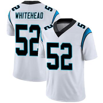 Youth Nike Carolina Panthers Tahir Whitehead White Vapor Untouchable Jersey - Limited