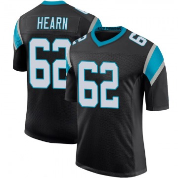 Youth Nike Carolina Panthers Taylor Hearn Black Team Color 100th Vapor Untouchable Jersey - Limited