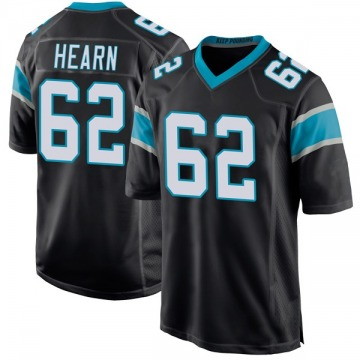 Youth Nike Carolina Panthers Taylor Hearn Black Team Color Jersey - Game
