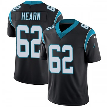 Youth Nike Carolina Panthers Taylor Hearn Black Team Color Vapor Untouchable Jersey - Limited