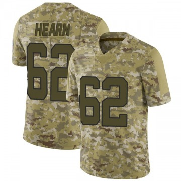 Youth Nike Carolina Panthers Taylor Hearn Camo 2018 Salute to Service Jersey - Limited