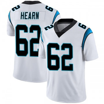 Youth Nike Carolina Panthers Taylor Hearn White Vapor Untouchable Jersey - Limited